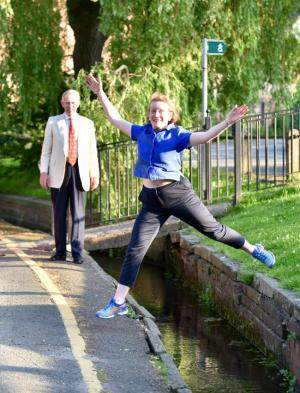 Knutsford Guardian: The director general of the National Trust is the latest person to do 'Canute's Crossing' in some style. Click here to read more